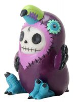 Toucan Mango Furry Bones Skellies Figurine