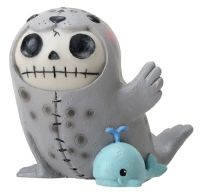 Rollie Furry Bones Skellies Medium Figurine