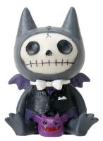 Flappy the Bat Furry Bones Skellies Medium Figurine