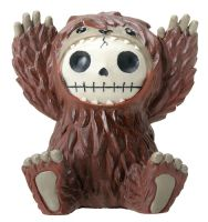 Bigfoot Furry Bones Skellies Medium Figurine