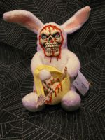 Skeleton Easter Bunny Scare Bear
