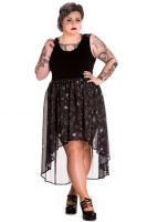 Spin Doctor Plus Size Gothic Ouija Sun Moon Eye Spirit Dress