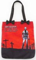 Rock Rebel The Walking Dead Graveyard Tote