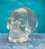 Large Spooky Translucent Skull
