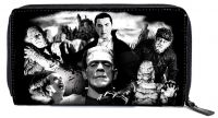 Rock Rebel Universal Monsters Black PVC Monster Collage Wallet