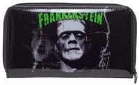 Universal Monsters Black and Green Frankenstein PVC Vinyl Wallet