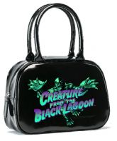 Blue Creature from the Black Lagoon Bowler Purse Handbag