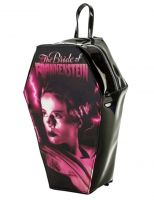 Universal Monsters Gothic Bride of Frankenstein PVC Coffin Backpack by Rock Rebel