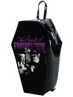 Universal Monsters Bride Gets Ready Frankenstein PVC Coffin Backpack by Rock Rebel