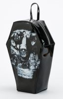 Universal Monsters Gothic Monster Collage PVC Coffin Backpack by Rock Rebel