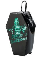 Universal Monsters Creature from The Black Lagoon PVC Coffin Backpack by Rock Rebel