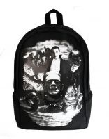 Universal Monsters Gothic Monster Collage Full Size Backpack by Rock Rebel