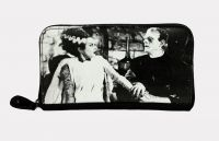 Universal Monsters Frankenstein & Bride We Belong Dead PVC Vinyl Wallet