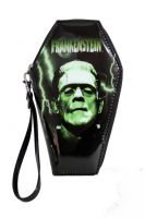Universal Monsters Green & Black Frankenstein PVC Vinyl Coffin Wallet