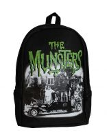 Universal Monsters Gothic The Munsters Full Size Backpack by Rock Rebel