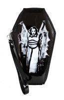 Universal Monsters Lily Munster The Munsters PVC Vinyl Coffin Wallet