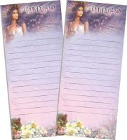 """Virgo"" Magnetic Zodiac List Pad by Josephine Wall"