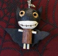 Bat Boy Woody Keychain
