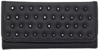 Rock Rebel Black Studded Vegan Faux Leather Addison Wallet