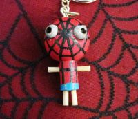 Spiderman Woody Keychain