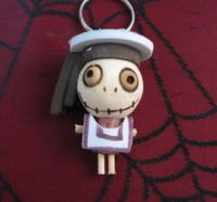 Schoolboy Sailor Woody Keychain