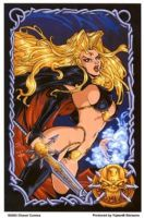 Chaos- Lady Death Anime Sticker
