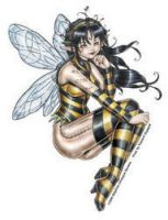 Del's Honey Fairy Sticker