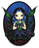 Jasmine's Nepenthe Fairy Sticker